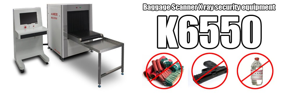 Conveyor Inspection X Ray Baggage Scanner K6550