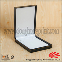 Strong cardboard gift jewel tray box