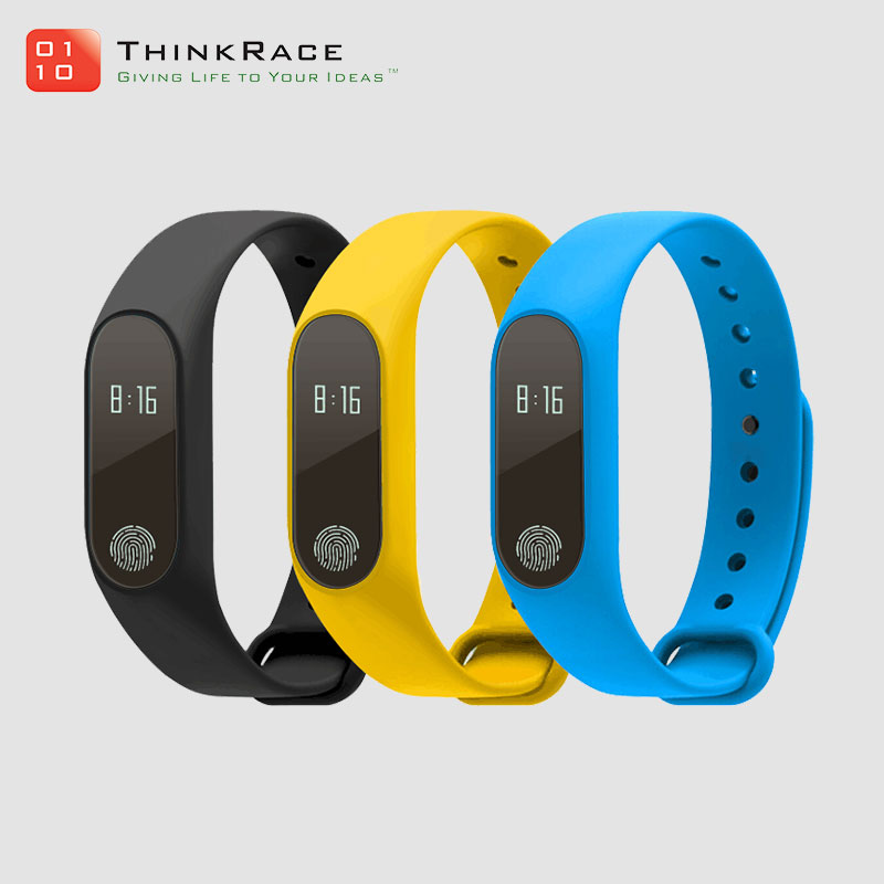 Heart-rate monitor waterproof bluetooth fitness m2 smart bracelet