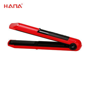 led fast hair straightener rechargeable wireless automatic floating heating plate hair straightener styling