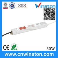 IP67 LPV-30-12 30W single output 12V 2.5A 170~264V AC DC Waterproof led switching power supply