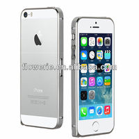 FL3377 Guangzhou high quality Chrome Plated screw metal bumper case for iphone 5 5s