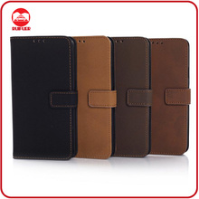 High Quality Retro Matte Folded Style Wallet Magnatic Flip Leather S5 Phone Case