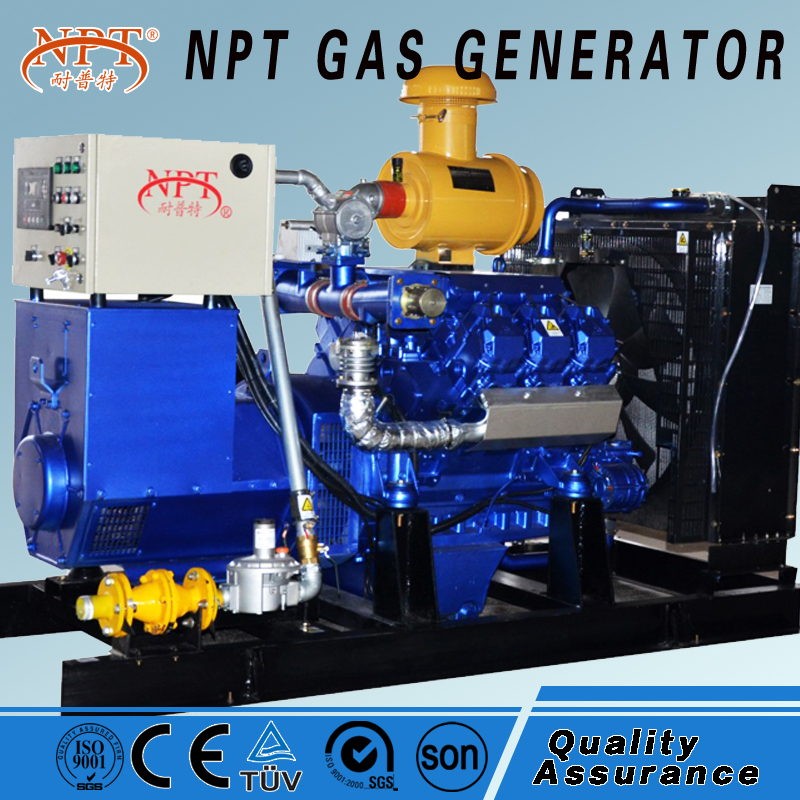 CE 100kw gas fuel generators with Deutz MWM engine