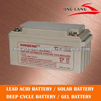 good price high quality sealed lead acid battery for solar system 12V 65AH
