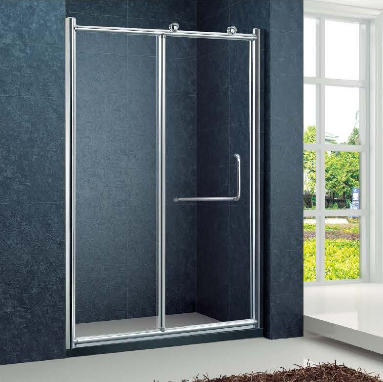 Cheap shower straight sliding glass door with sliding for Cheap sliding glass doors