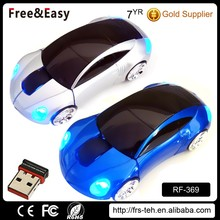 Computer wireless car shaped mouse gift wireless mouse