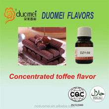 Concentrated toffee flavour hookah flavor PG eliquid flavor shisha fragrance
