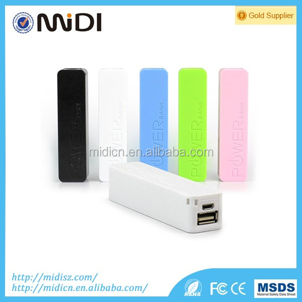 Best Gift Power Bank 2600mAh Perfume Mini Portable Power Bank Mobile Charger For iPhone/ iPad /Samsung