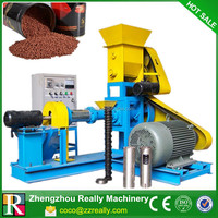 Best sell soybean pet food extruder animal feed pellet extruder machine with ce