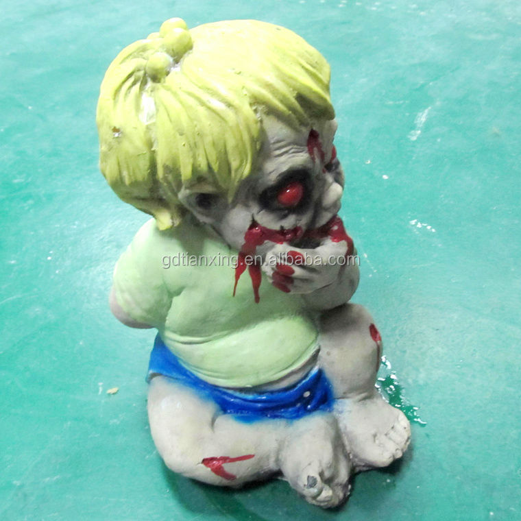 Haunted House Latex Foam Scary Baby Boy With Blood Boby
