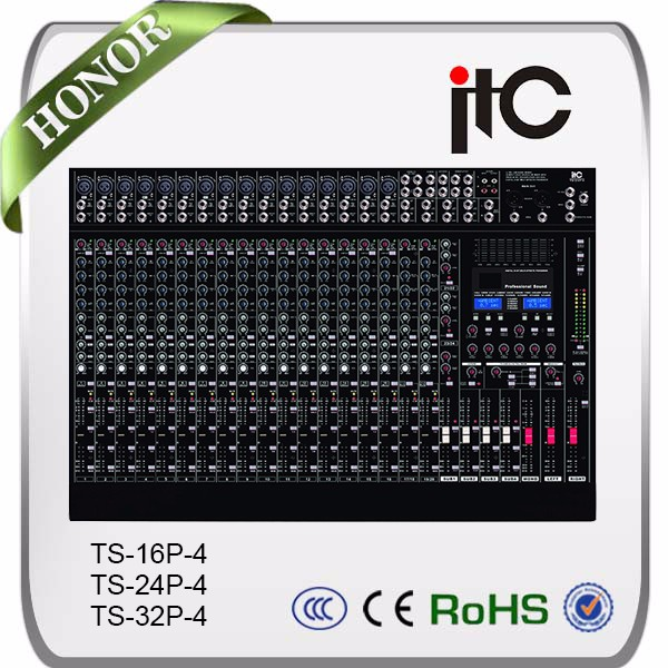 ITC 16 channel professional digital audio power mixer console