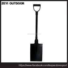 Steel D handle Square Garden Spade
