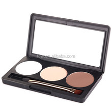 Private Label Makeup Manufacturers 3 Colors Mineral Face Powder Foundation