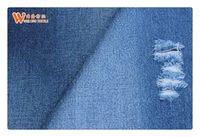 A349 Pants Poly Spandex Denim Made In China