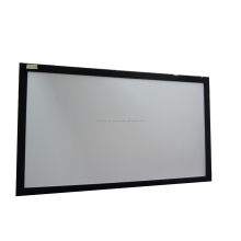 Black velvet HD Fixed Frame projection Screen,Customized size, customized fabric