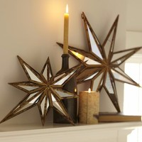 Home Decorative Star Shape 12 Inch Quarter Imported Table Mirror