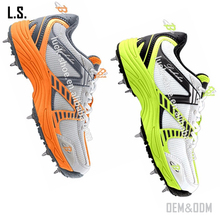 New design active men cricket shoes professional men spike shoes athletic field training shoes
