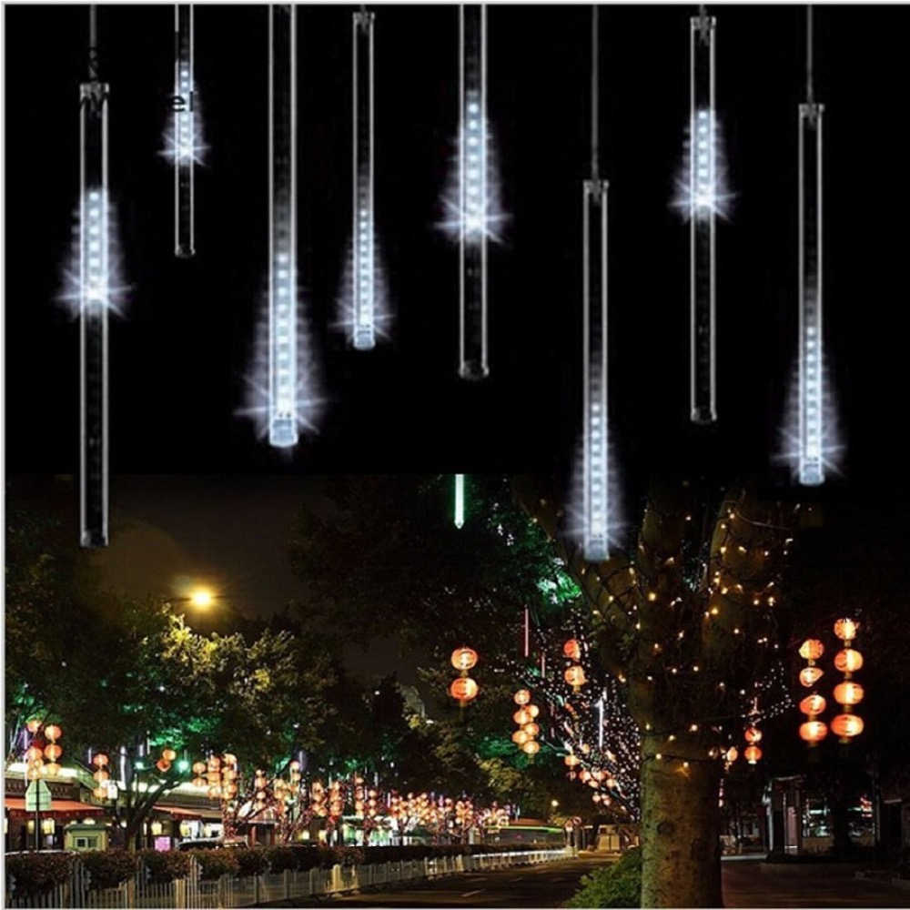 LED Shower Meteor Rain Light