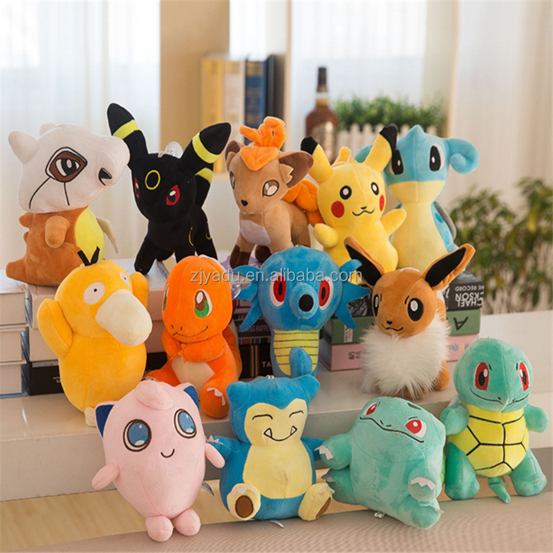 Wholesale cheap and cute Pokemon plush toy for baby animal cotton stuffed plush doll