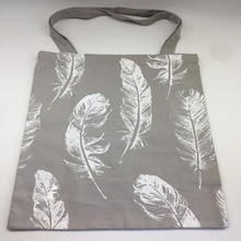 wholesale cotton canvas shopping tote bag with silk printing