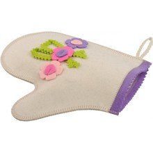wool felt sauna glove for bath 1mm 2mm 4mm customized directly from factory