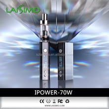 New e cigarette copper eicg Laisimo IIpower 70w mod stainless