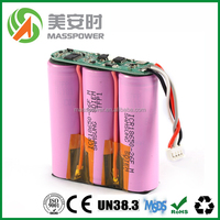 18650 lithium iron phosphate battery 3000mAh
