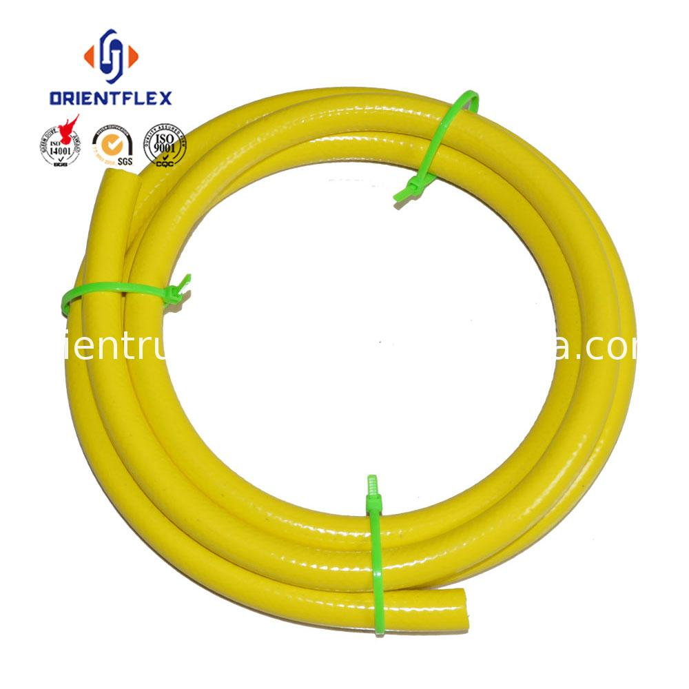 "Custom 1/2"" 3/4"" pure water use PVC garden hose fitted with brass connectors suppliers"