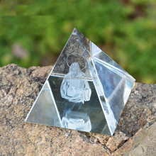 New Arrival Promotional Souvenir egypt crystal stone pyramid crystal pyramid shaped paperweight