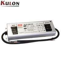 MEANWELL ELG-240-24 240w 24v dimmable dc waterproof led driver power supply