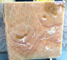 Imported Mexico Honey Amber Onyx Floor Tile