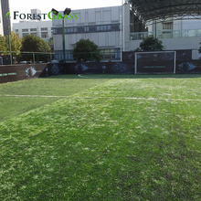 Cheapest diamond shape yarn artificial grass for soccer field football court synthetic grass china factory Forestgrass fake gras