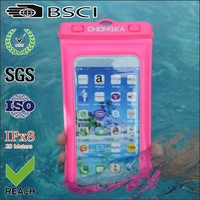 shining cell phone waterproof cover new style