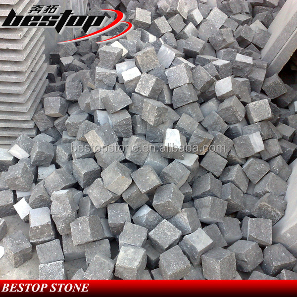 2016 New Arrival Granite Black Paving Setts
