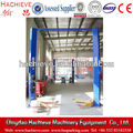 Hydraulic two post clear floor 4.5ton car service lifts /two post car maintentance hoist for sale