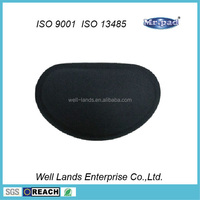 Soft gel inside bean bag mouse pad wrist rest