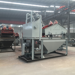 Fine crusher sand washer recycling machine