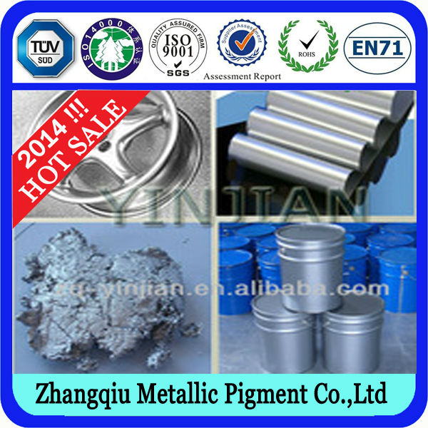High Metallic Reflective Aluminium Paste Silver Pigment for Industrial Paint