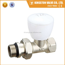 Yuhuan Brass T108 1/2 Radiator Angle Valve With Cap