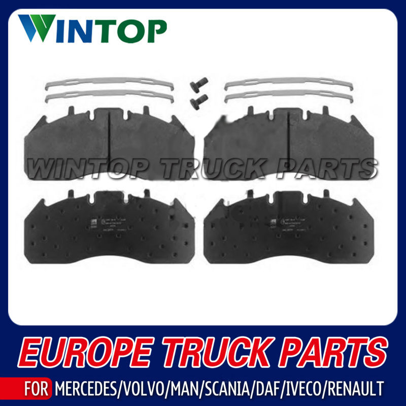 Brake Pad Kit for Trailer OEM: 0980102920 0980106360 WVA29061