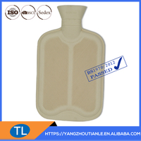 Rubber Hot Water Bag Thermo Water Bag With Knitted Cover