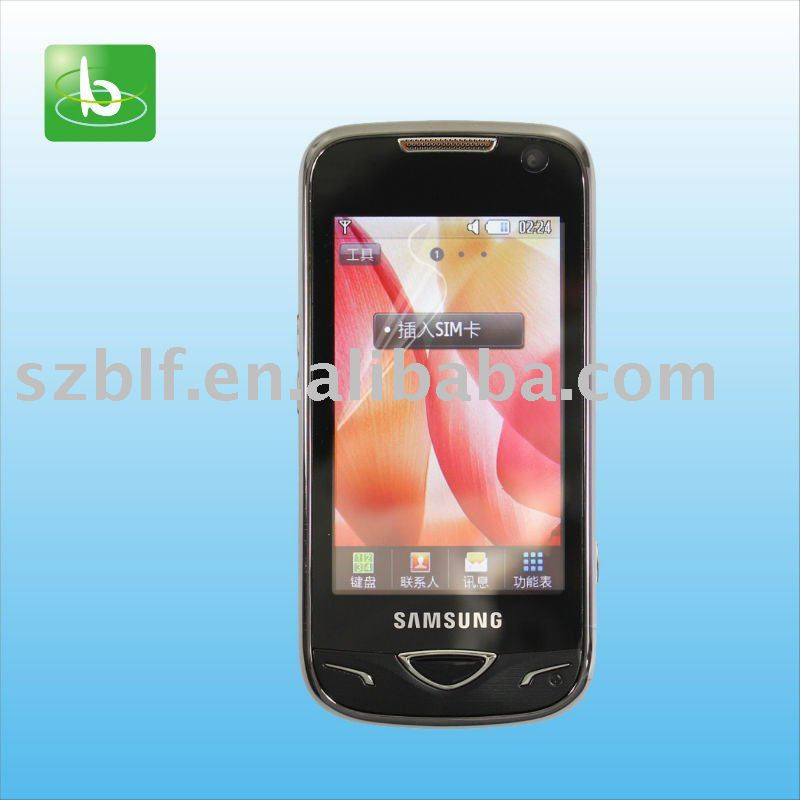 high clear screen protector for Samsung B7722