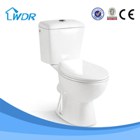 Design sanitary two piece ceramic wholesale bathroom chinese vacuum toilet W8037