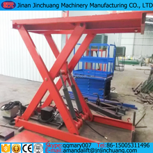 electric hydraulic cargo lift 1 floor