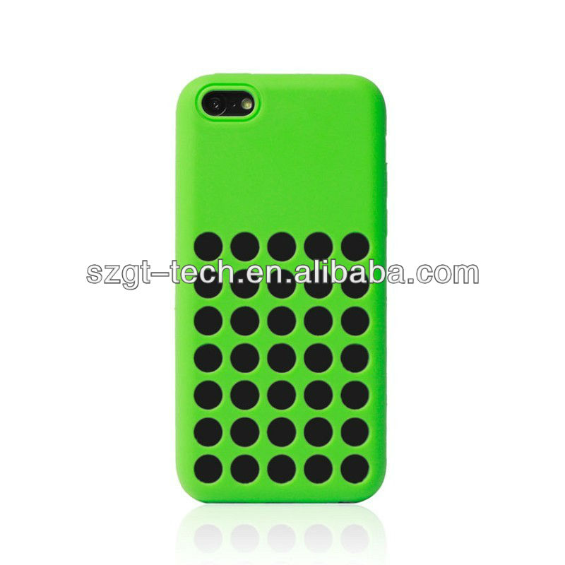 2013 Hot sell for iPhone5C original silicone case