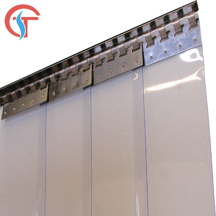 Vinyl clear transparent pvc soft door curtain