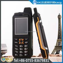 M21 IP67 waterproof cell phone unlocked GSM CDMA800mhz dual SIM power bank mobile