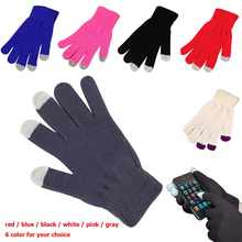cheap widely used daily life ipad / computer / phone / touch screen / winter touch gloves