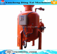 High quality used sand blasting machine/portable sand blasting machine